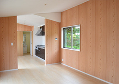 自由設計のトレーラーハウスの住宅はまるで戸建ての新築!
